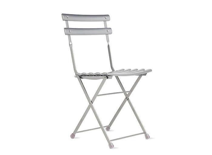 arc en ciel folding metal dining chair outdoor