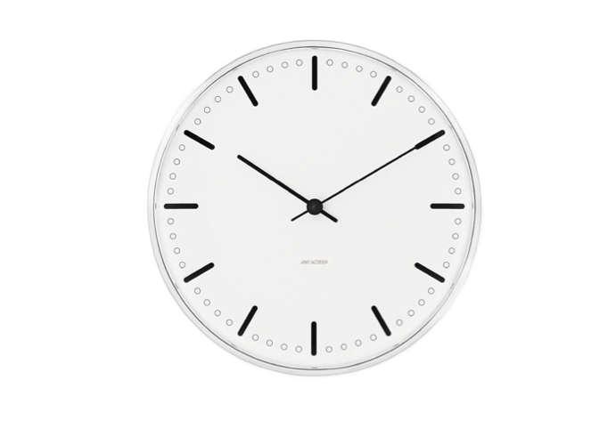 arne jacobsen wall clock simple