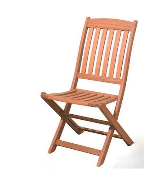 folding hardwood chair jamali garden