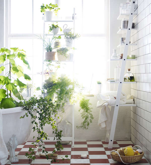 New From Ikea A Stepladder Shelf for Plants portrait 3