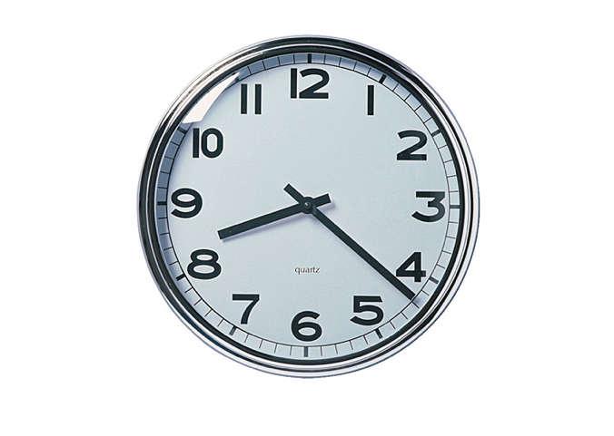 quartz wall clock ikea