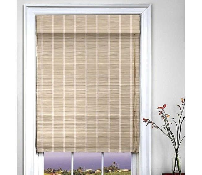 standard woven wood shade