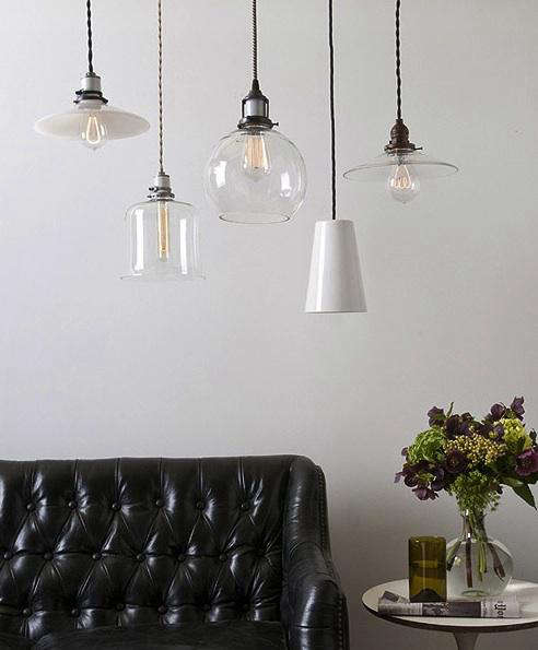 Lighting New Glass Opal and Porcelain Shades from Schoolhouse Electric portrait 3