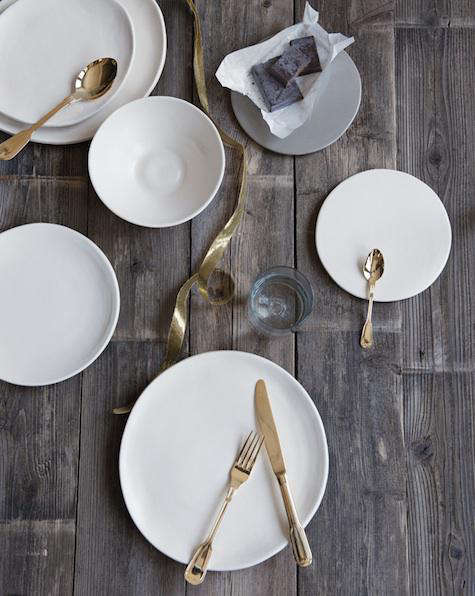 Giveaway Table Setting for Ten from Canvas portrait 5
