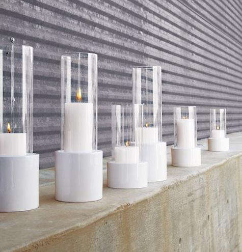 Outdoors Ceramic Lanterns from CB2 portrait 3