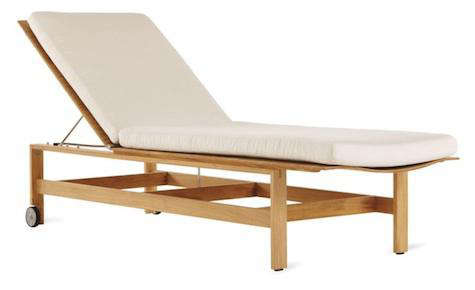 Furniture HighLow Outdoor Chaise Longue portrait 3