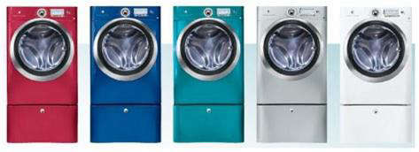 electrolux colors washer dryer