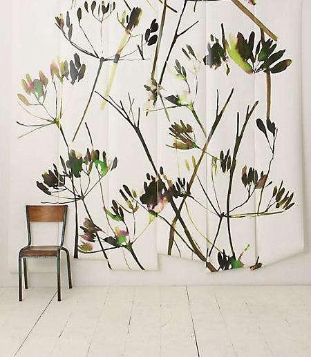Walls Windows  Floors Brushstroke Branches Mural at Anthropologie portrait 3