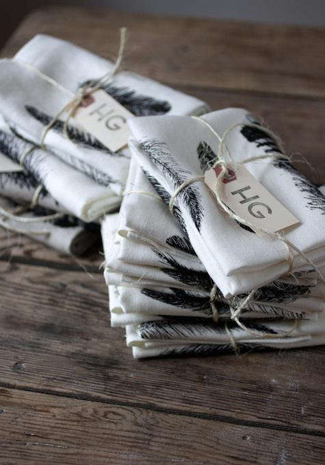 hg feather kitchen towel