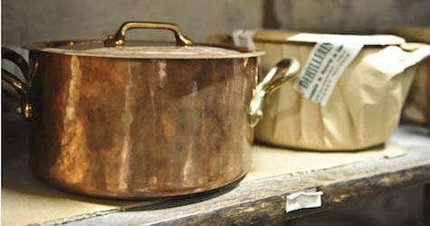 mauviel copper pot gp