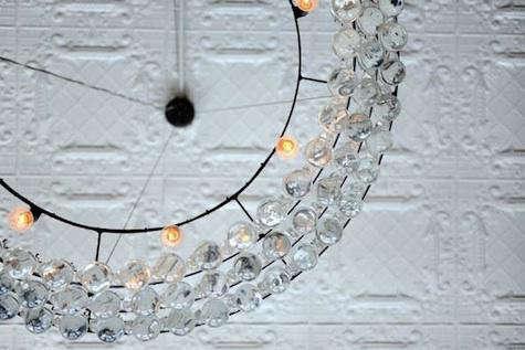 pear chandelier detail 2