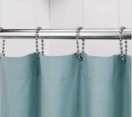 Bath Ball Chain Shower Curtain Rings portrait 3