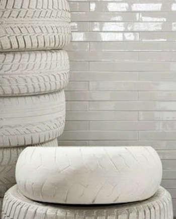 1ceramica white painted tires