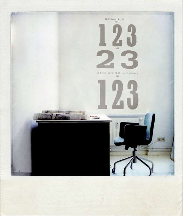 1graphic grey numbers wall sticker