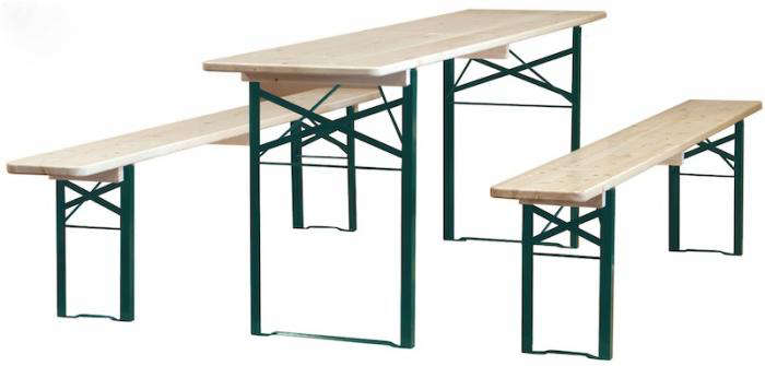 700 biergarten folding table