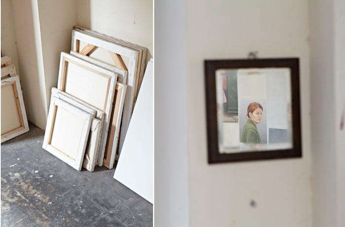 700 duncan hannah painting canvases