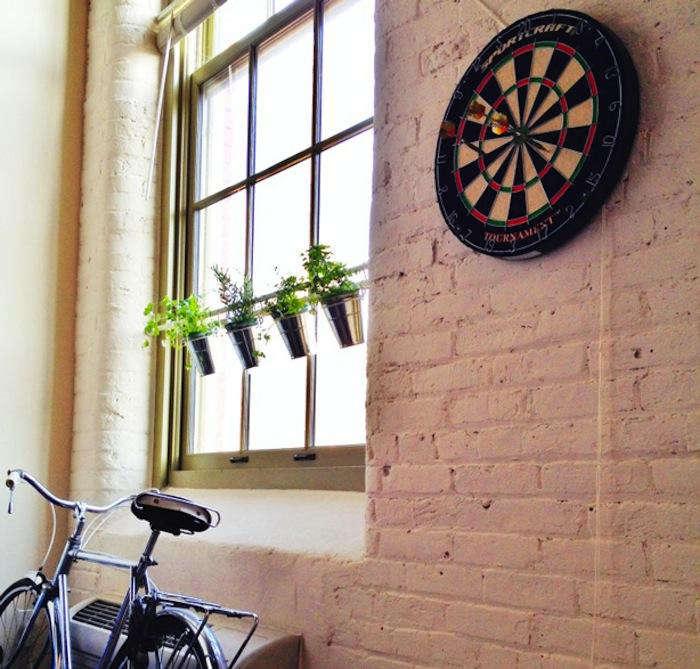 700 ikea window herb planters with bike
