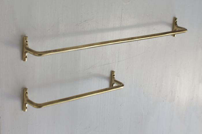 700 oji brass towel bars