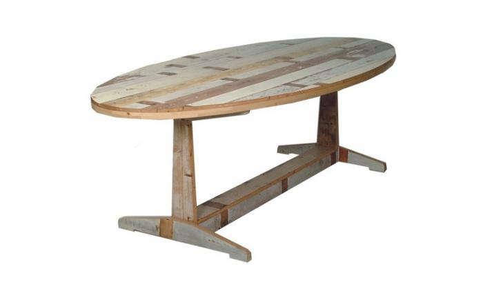 700 phe scrapwood table