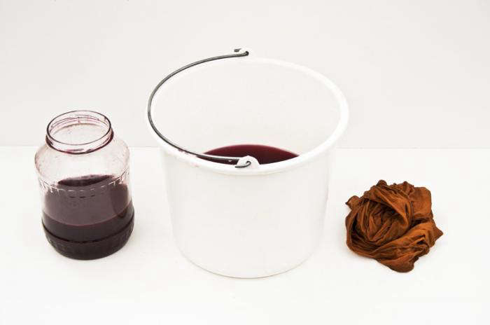 700 raw textile dye ochre