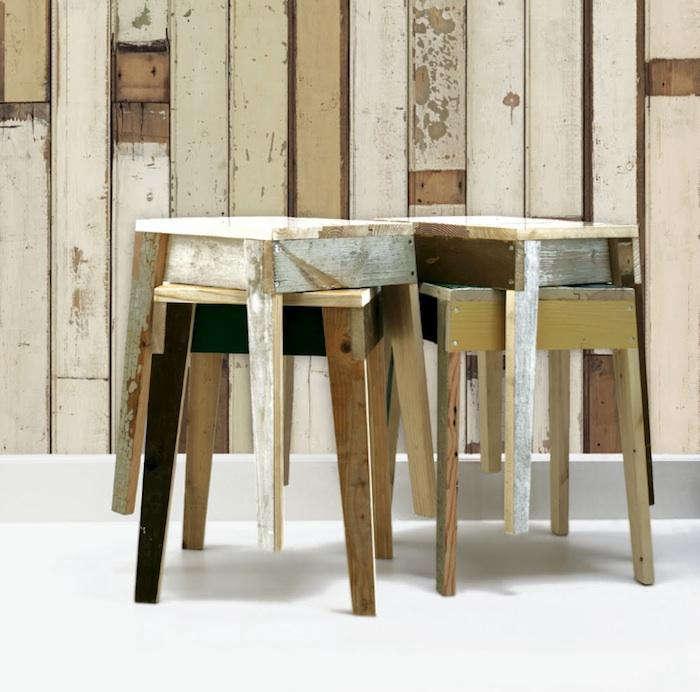 700 stacked stools piet hein eek