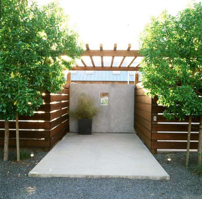 700 stinson beach wood fence