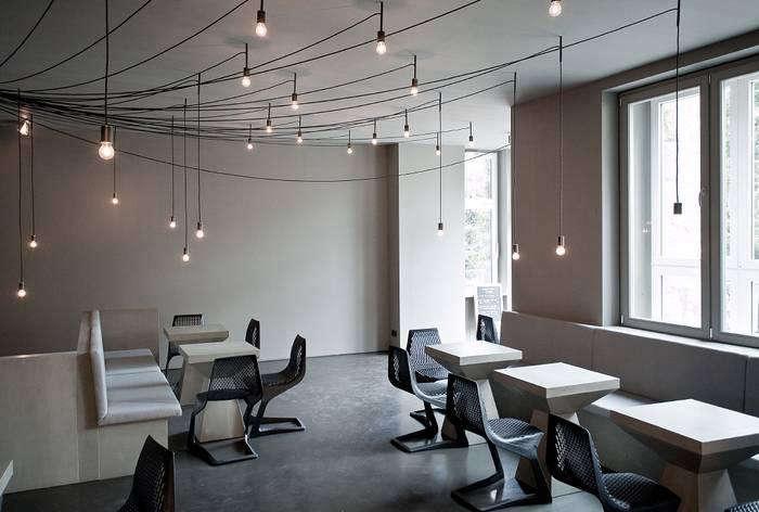 700 tin berlin restaurant hanging lights horizontal