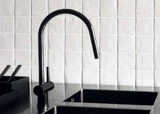 black kitchen faucet one