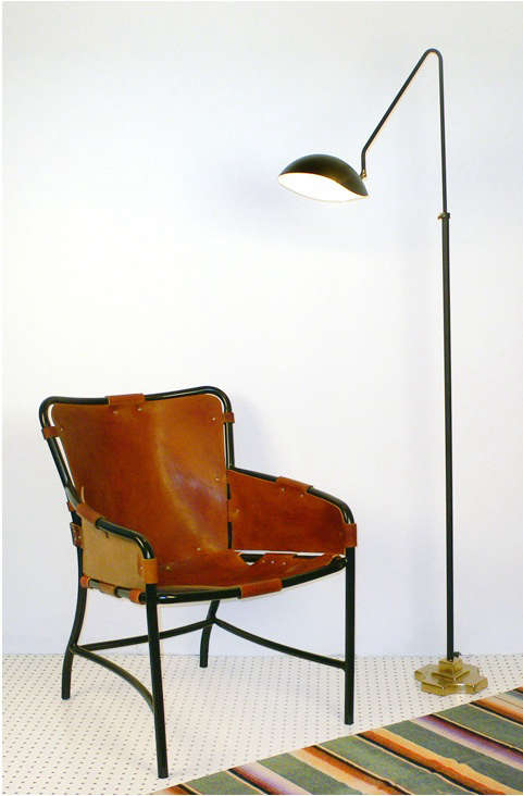 collected chair floor lamp