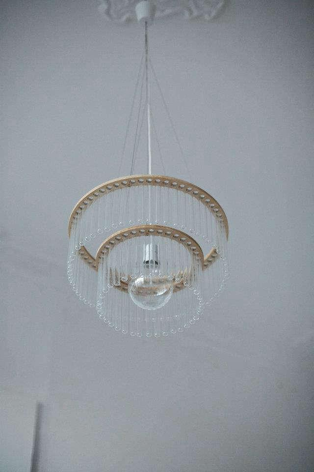 pani test tube chandelier empty