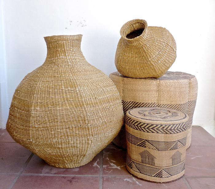 700 gourd baskets and ottomans from design afrika