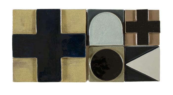 Sculptural Tiles from a London Ceramicist portrait 3