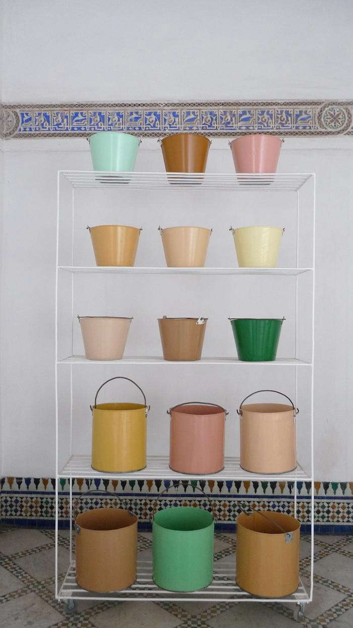 700 moroccan buckets natural history