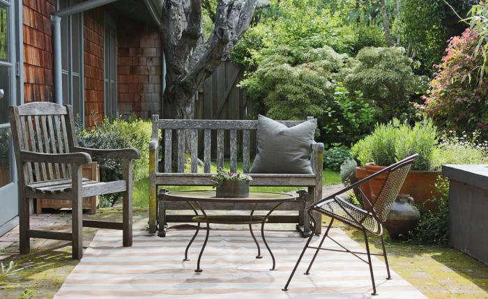 700 outdoor rug williams sonoma stripe brown