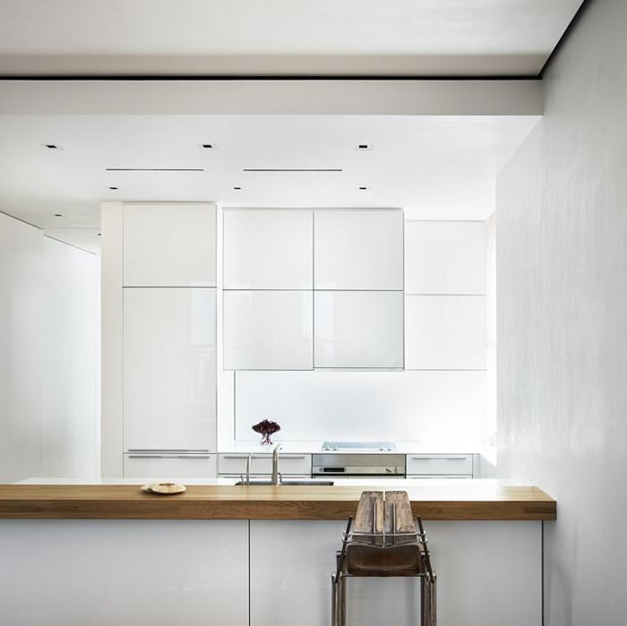 700 richard meier white kitchen