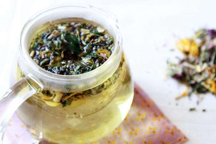 700 steeping allergy tea