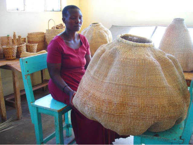 African Baskets of Dramatic Proportion portrait 5