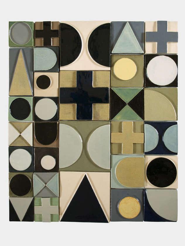 Sculptural Tiles from a London Ceramicist portrait 4