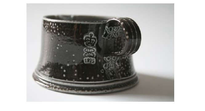 steve harrison black mug
