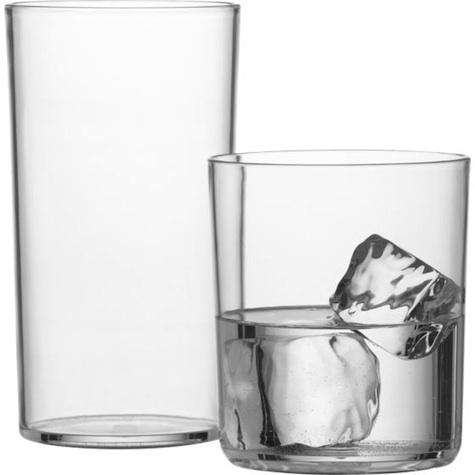 CB acrylic drinking glasses