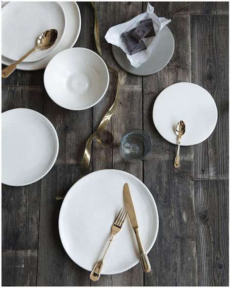 Classico cutlery set table shot