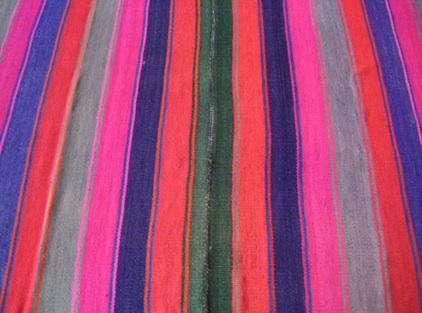 Walls Windows  Floors Striped Peruvian Rugs from Morris Etc portrait 4