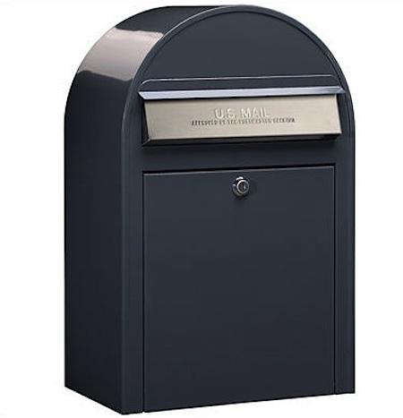 USPS Bobi Grey Stainless Steel Mailbox one