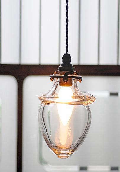 Lighting Handblown Glass Lamp from Analogue Life portrait 3