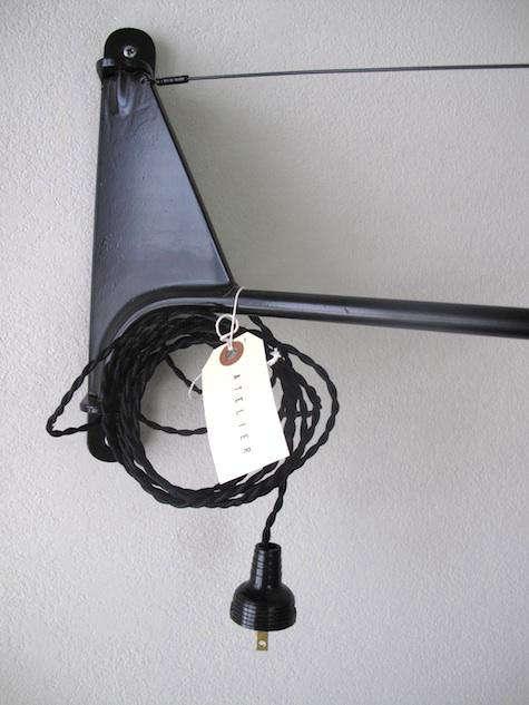 Design Sleuth Atelier Potence Lamp portrait 5