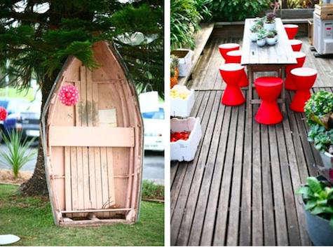 boathouse red stools 10