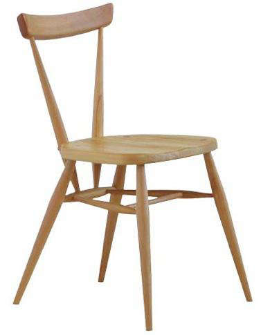 Design Sleuth Ercol Stacking Dining Chairs portrait 6