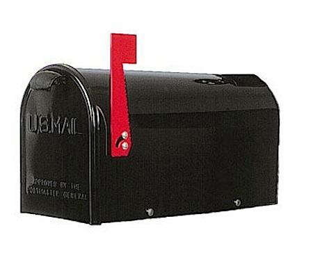 gdm newport mailbox black one