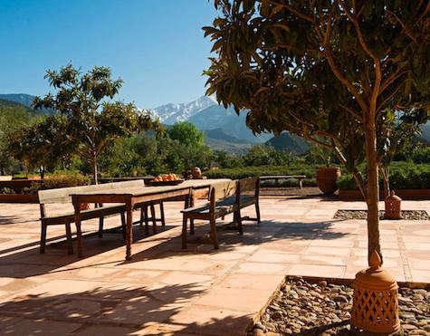 kasbah bab outdoor table