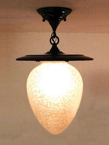 metro acorn fixture light shade